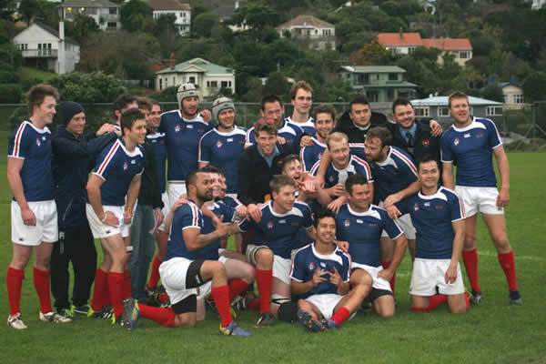U85s team after their victory against Wainui on 7 June.